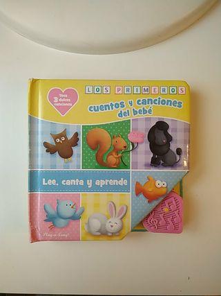 libro infantil: cuentos y canciones del bebé