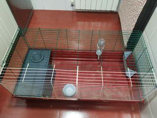 jaula grande conejo o otro animal