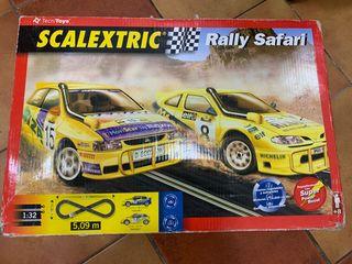 SCALEXTRIC Rally Safari completo con 3 coches