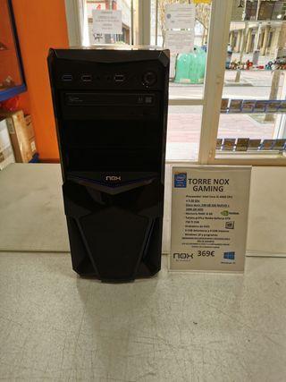 TORRE NOX GAMING i5/ 240 GB SSD Y 1 TB HDD
