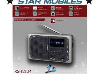 -- RADIO SAMI RS12104 USB MICRO SD NUEVO
