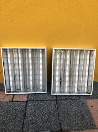 Paneles con 4 tubos