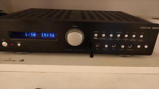 Amplificador HiFi - Fonestar AS-22RUB, negro, esté