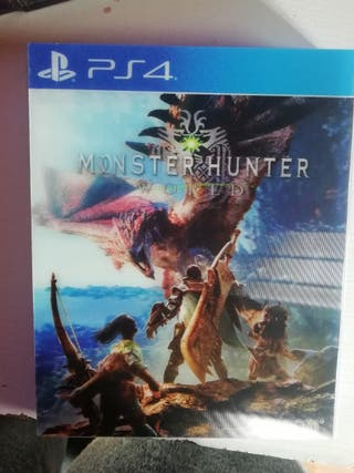 monster hunter world ps4 y ps5 usado una vez