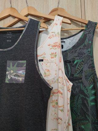 camisetas de tirantes 1 GLOBE, 2 RVCA