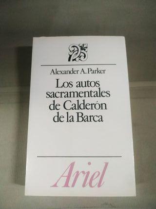 Los Autos Sacramentales de Calderón de la Barca