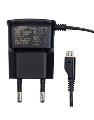 Cargador Samsung ETA0U10EBECSTDconector micro USB