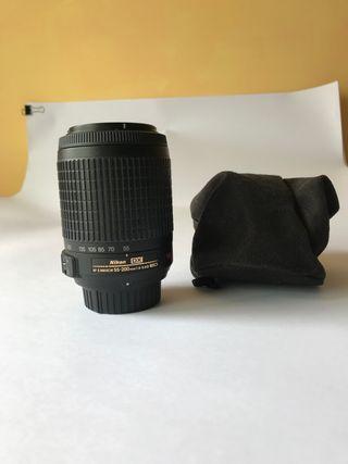 Objetivo Nikon 55-200vr