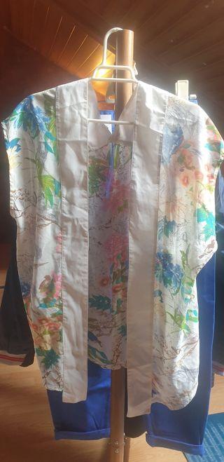 Kimono flores