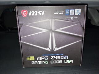 Placa base msi mpg z490m gaming edge wifi