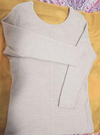 Massimo Dutti jersey beis de lana
