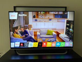 TV LG 49 pulgadas 4K y 3D