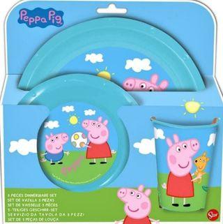 vajilla Peppa pig bebe