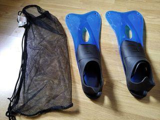 aletas baratas para snorkel pie numero 43 44