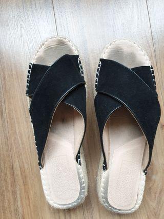 Sandalias negras talla 41