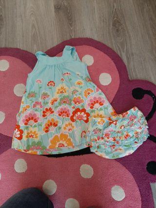 vestido de verano talla 12-18 meses