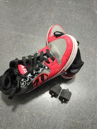 zapatillas ruedas n° 41