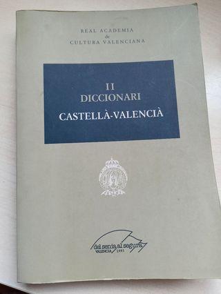 Diccionario castellano-valenciano