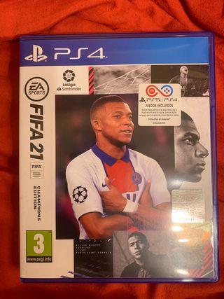 Fifa 21 edición champions PS4