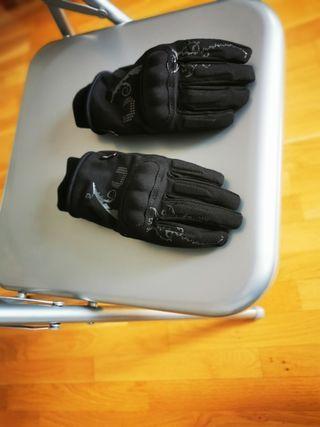 Guantas moto invierno polartec, talla L para mujer
