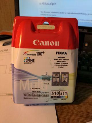 cartuchos de tinta para impresora CANON