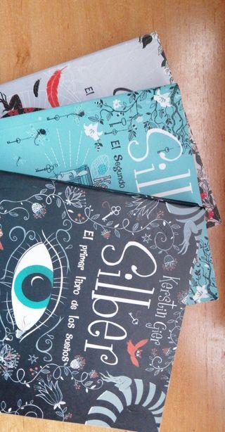 Saga libros Silber de Kerstin Gier, novela juvenil