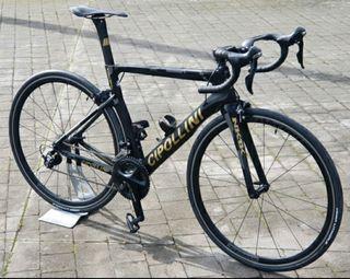 Bicicleta carretera carbono 11V, talla M