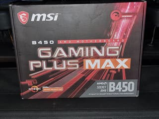 Placa base msi Gaming plus max b450