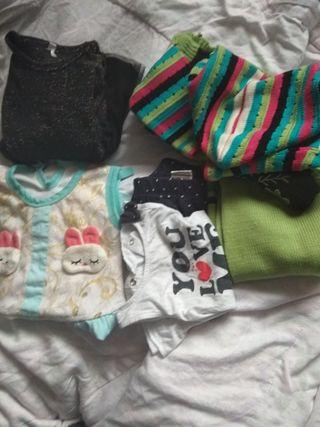 lote ropa niña todo por 6€