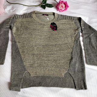 suéter brillo