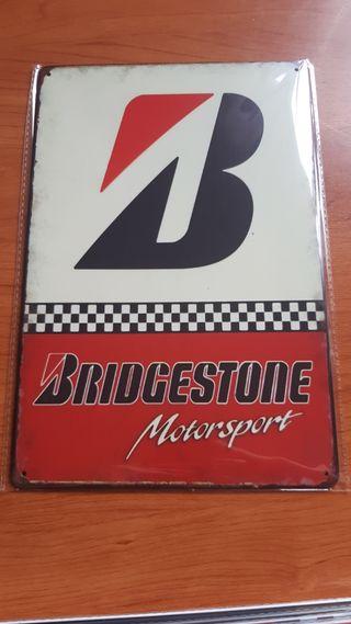 Placa Decorativa Bridgestone