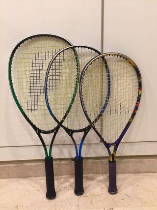 Raquetas de tenis marca Prince