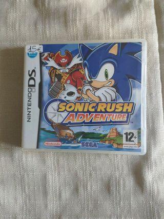 Sonic Rush adventure Nintendo Ds