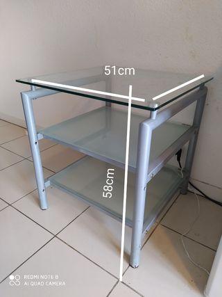Petite Table en verre