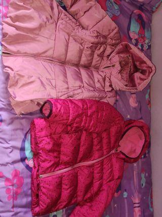 lote abrigos talla 5-6 años