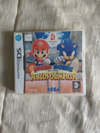 Mario y Sonic en los juegos olímpicos Nintendo Ds