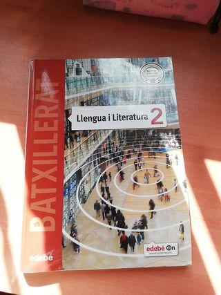 llibre llengua catalana i literatura 2n batx