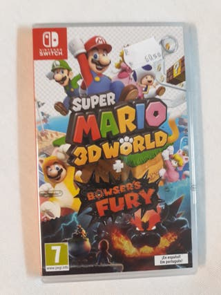 juego SWITCH SUPER MARIO 3D WORLD+BOWSERS FURY