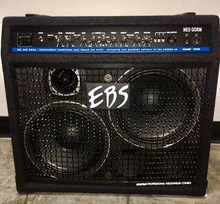 "Amplificador de Bajo EBS Combo Neo Gorm 350w 2x10"""