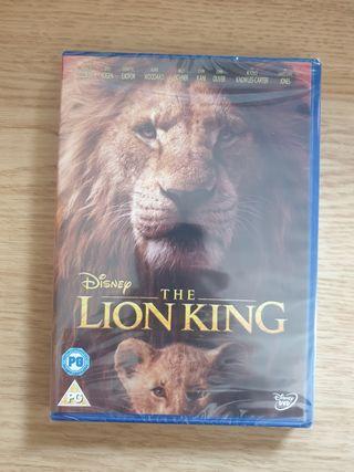 DVD El Rey León (acción real)