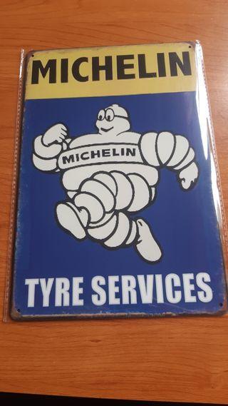 Placa decorativa Michelin