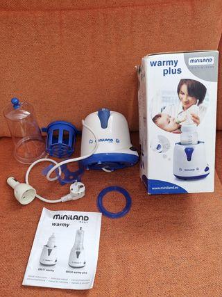 Calienta biberones eléctrico marca Miniland
