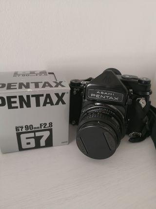 Pentax 6x7 MLU + 2 objetivos