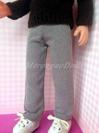 Pantalones para muñeco Lucas New