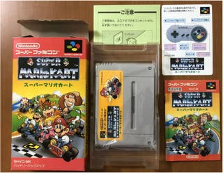 Super Mario Kart SNES