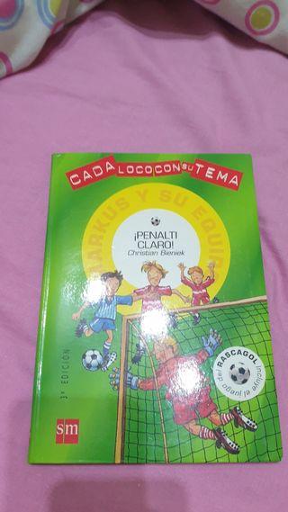 Libro de Futbol para niños ¡Penalti claro!