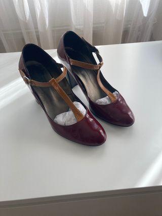 Zapatos de charol T38
