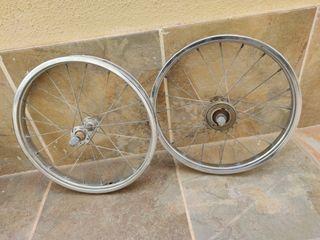 ruedas bici clásica GAC 16 pulgadas