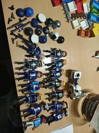 lote policía Playmobil