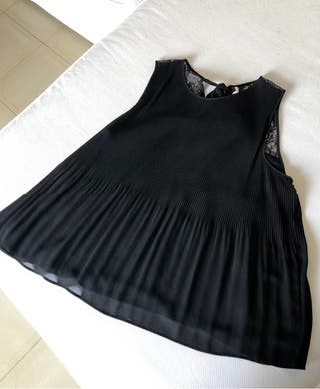 Camiseta Negra de Tirantes TRAFALUC
